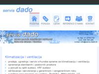 Frontpage screenshot for site: Servis Dado (http://www.servis-dado.hr)