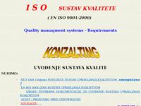 Slika naslovnice sjedišta: Litura d.o.o. Konzalting usluge uvođenja ISO sustava kvalitete (http://free-ri.htnet.hr/litura/)
