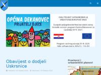 Slika naslovnice sjedišta: Općina Dekanovec (http://dekanovec.hr)