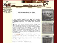 Slika naslovnice sjedišta: NpM d.o.o. - namještaj po mjeri (http://www.npm.hr/)