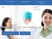 Slika naslovnice sjedišta: Udruga privatnih poslodavaca u zdravstvu (http://www.uppz.hr)