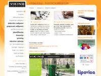 Frontpage screenshot for site: VIKING (http://www.viking.hr/)