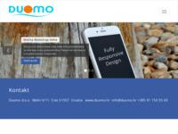 Frontpage screenshot for site: Apartmani Duomo, Cres (http://www.duomo.hr)