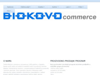 Frontpage screenshot for site: (http://www.biokovo.hr/)