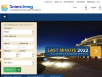 Frontpage screenshot for site: Danex Umag (http://www.croatia-danexumag.com/)