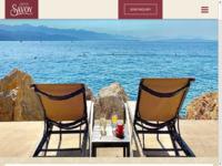 Frontpage screenshot for site: Hotel Savoy Opatija (http://www.hotel-savoy.hr/)