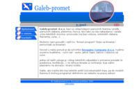 Slika naslovnice sjedišta: Galeb-promet d.o.o. (http://www.galeb-promet.hr/)