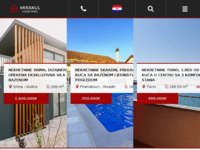 Frontpage screenshot for site: Mirakul d.o.o. (http://www.mirakul-adria.hr/)