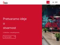 Frontpage screenshot for site: Sobočan interijeri (http://www.sobocan-interijeri.hr/)