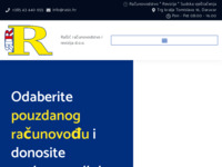 Frontpage screenshot for site: (http://www.rasic.hr/)