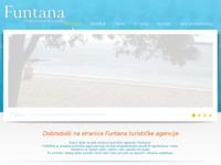 Frontpage screenshot for site: Privatna turistička agencija u Funtani (http://www.jelena.hr/)