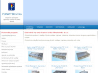 Slika naslovnice sjedišta: Plinotehnika d.o.o. (http://www.plinotehnika.hr)