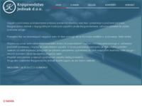 Frontpage screenshot for site: (http://www.knjigovodstvo-jedinak.com)