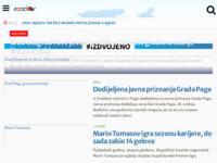 Slika naslovnice sjedišta: eZadar, zadarski internet portal (http://www.ezadar.hr)