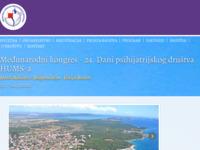 Frontpage screenshot for site: Organizacija kongresa Conventus (http://www.conventus.hr)