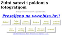 Slika naslovnice sjedišta: Bisa-trgovina d.o.o. (http://www.inet.hr/~sbirsic)