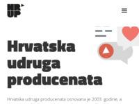 Slika naslovnice sjedišta: Hrvatska udruga producenata (http://www.hrup.hr/)