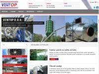 Frontpage screenshot for site: Ventop - Ravna Gora (http://www.ventop.hr)