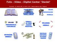 Frontpage screenshot for site: Daniel d.o.o. (http://www.daniel.hr)