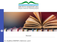 Slika naslovnice sjedišta: Društvo knjižničara Bilogore, Podravine i Kalničkog Prigorja (http://drustvo-knjiznicara-bpkp.hr)