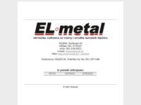 Slika naslovnice sjedišta: El-metal (http://www.inet.hr/~elmetal)