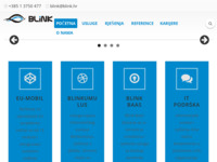 Slika naslovnice sjedišta: Blink Web (http://www.blink.hr)