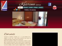 Frontpage screenshot for site: Turistička agencija Kosirina (http://www.tisno.net)