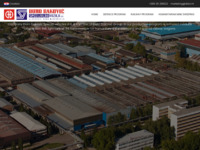 Frontpage screenshot for site: Đuro Đaković, Specijalna vozila d.d. (http://www.ddsv.hr/)