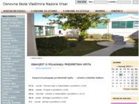 Slika naslovnice sjedišta: Službena kontakt veza s roditeljima i suradnicima OŠ Vladimira Nazora Vrsar (http://www.os-vnazora-vrsar.skole.hr/)