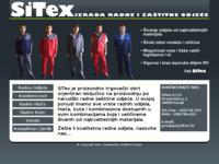 Slika naslovnice sjedišta: SiTex - proizvodnja radne i zaštitne odjeće. (http://www.sitex.hr/)