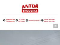 Slika naslovnice sjedišta: Antoš-trgovina d.o.o. (http://www.antos-trgovina.hr)