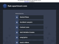Frontpage screenshot for site: Apartmani Rab, Banjol (http://www.rab-apartmani.com)