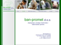 Frontpage screenshot for site: Ban-promet d.o.o. (http://www.ban-promet.hr/)