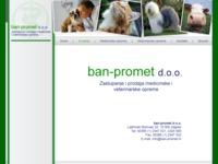 Slika naslovnice sjedišta: Ban-promet d.o.o. (http://www.ban-promet.hr/)