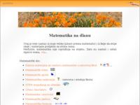 Slika naslovnice sjedišta: Materijali za nastavu matematike (http://www.antonija-horvatek.from.hr/)