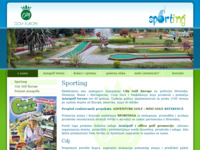 Slika naslovnice sjedišta: Minigolf tereni nove generacije u Hrvatskoj (http://www.citygolf.com.hr/)