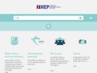 Frontpage screenshot for site: HEP Operator distribucijskog sustava d.o.o. (http://ods.hep.hr/)