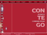 Frontpage screenshot for site: Contego - Škola poslovnog stranog jezika (http://www.contego.hr)