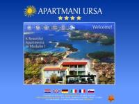 Frontpage screenshot for site: Apartmani Urša (http://www.apartmani-ursa.hr/)