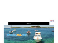 Frontpage screenshot for site: Hrvatski turistički portal (http://www.croatialink.com/)