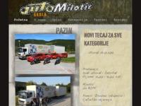Slika naslovnice sjedišta: Auto Škola Milotić (http://www.auto-milotic.hr/)