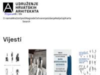 Slika naslovnice sjedišta: Udruženje hrvatskih arhitekata (UHA) (http://www.uha.hr/)