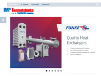 Slika naslovnice sjedišta: Imp termotehnika regulacija d.o.o. (http://www.imptermo.hr/)