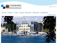 Frontpage screenshot for site: Tankerkomerc d.d. Zadar (http://www.tankerkomerc.hr/)