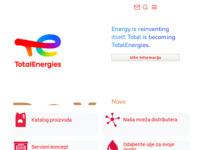 Slika naslovnice sjedišta: Total ulja i maziva (http://www.total.hr/)