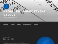 Slika naslovnice sjedišta: Krojal d.o.o. (http://www.krojal.hr)