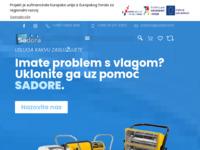 Slika naslovnice sjedišta: Sadora d.o.o. (http://www.sadora.hr)