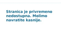 Frontpage screenshot for site: Gama-lov d.o.o. (http://www.gama-lov.hr/)