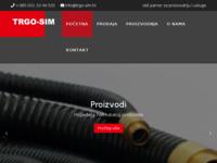 Frontpage screenshot for site: Trgo sim d.o.o. (http://www.trgo-sim.hr)