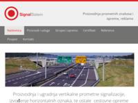 Slika naslovnice sjedišta: Signal sistem (http://www.signalsistem.hr/)